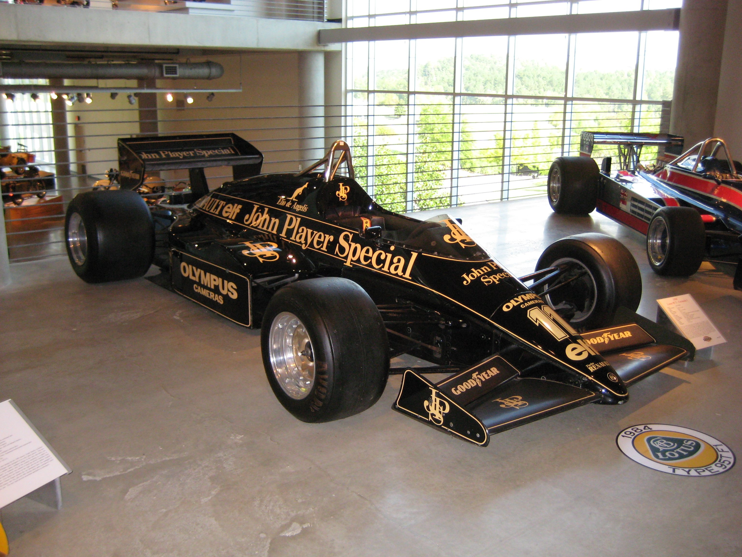 1984 Lotus Type 95t F1 Quot John Player Special Quot