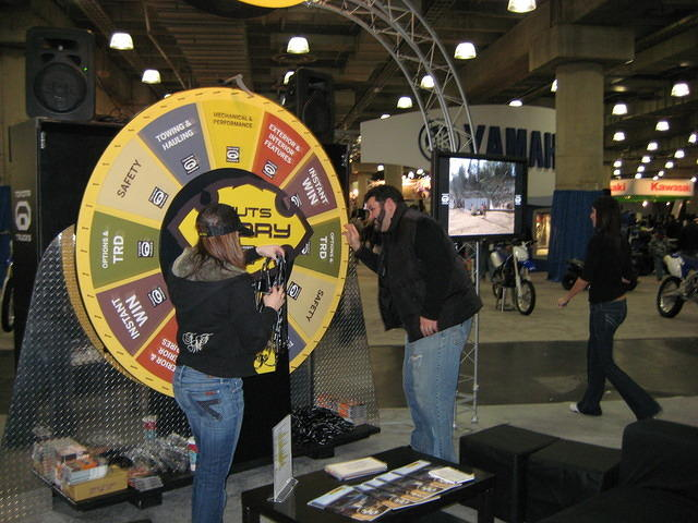 Chad, spinning the wheel of fortune