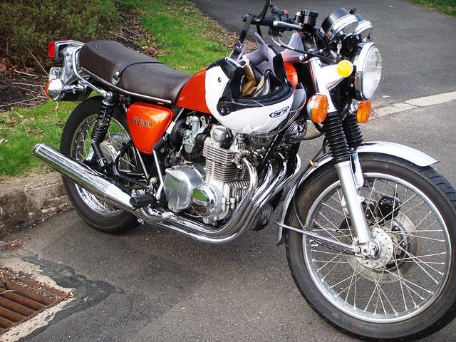 Honda CB550 Four<br>