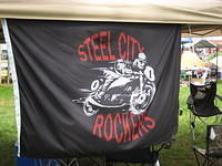 Sergio's 'Steel City Rockers' banner