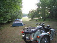 Campsite at RDV